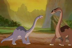 Adult Littlefoot meets his father by Draigar-Fire-Crystal Disney Dinosaur, Dinosaur Movie, Dinosaur Images, Dinosaur Pictures, Dinosaur Art, Disney Crossovers, Disney Films, Disney And Dreamworks, Disney Cartoons