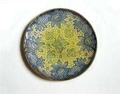 Sieh dir dieses Produkt an in meinem Etsy-Shop https://www.etsy.com/de/listing/252059513/wand-keramik-teller-wand-mandala-keramik