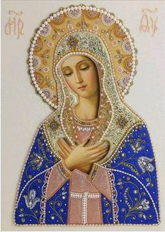 Traditional Catholic Virgin Mary Prints Ready for Frame Divine Mother, Blessed Mother Mary, Blessed Virgin Mary, Virgin Mary Art, Virgin Mary Painting, Jesus Mother, Religious Pictures, Religious Icons, Religious Art