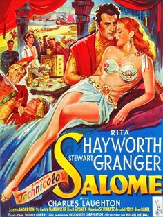 Rita Hayworth, a poster of Salome Classic Movie Posters, Movie Poster Art, Classic Films, Rita Hayworth, Epic Film, Film Movie, Old Movies, Vintage Movies, Vintage Posters