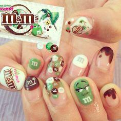 #mmschocolate #nail #nailart #naildesign #instagram