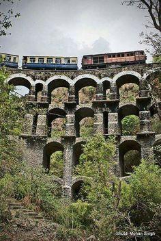 Ride the Kalka Shimla Railway (#UNESCO World Heritage Site)!