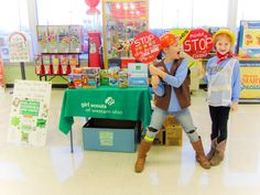 girl scout cookie booth decorations - Bing Images