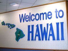 Being that Hawaii is an island state, there aren't