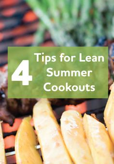 Summer is the time for grilling, but it's also time to watch your waistline. Use these healthy grilling ideas to keep your cookouts lean and delicious!