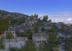 Aristi village in Zagori, Greece