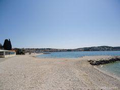 In Okrug Gornji findet jeder einen Platz am Strand.
