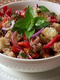 Cucina Artusiana: Panzanella - Salada de Pão