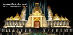 Vrindavan is now home of World's Tallest Krishna Temple. krishnabumi.in