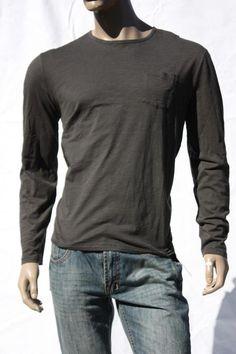 994d44916 Mens T Shirt John Varvatos USA Cotton Crew Tee L/s Shirts Pullover Sz XL  for sale online   eBay