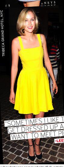 Yellow (Bright) Dress