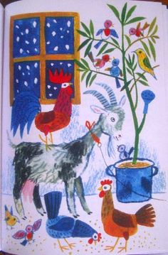Reich Karoly Book Drawing, Drawing Sketches, Drawings, Art And Illustration, Christmas Animals, Christmas Art, Hand Kunst, Galo, Hand Art
