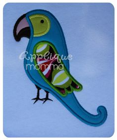 Parrot Applique Design