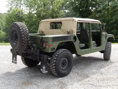 Military Softtop H1 Hummer