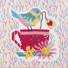 Cross Stitch Heart, Cross Stitch Cards, Cross Stitch Designs, Perler Beads, Beading Patterns, Pixel Art, Kids Rugs, Birds, Quilts