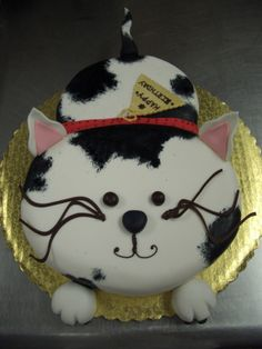 Kids Cake Cat By Stringy Cowdeviantart On DeviantART Fondant Cakes