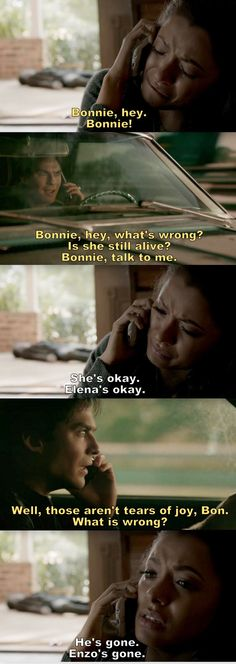 The Vampire Diaries TVD S08E12- Damon & Bonnie