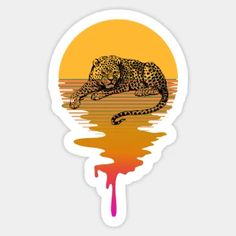 Stickers by iZiets | TeePublic Sun Background, Duffel Bag, Lovers Art, Retro Fashion, Mandala, Wildlife, Pastel, Tapestry, Phone Cases