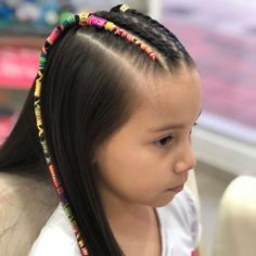 Summer Hairstyles, Braided Hairstyles, Bright Summer Nails, Hair Skin Nails, Braids For Kids, Hair Accessories, Neon, Hair Styles, Beauty