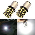 2X Xenon White Car Led Bulb Light AX-2835 Chipsets 1157 33-SMD 800lm LED Bulbs