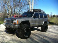 XJ Lift/Tire Setup thread - Page 28 - Jeep Cherokee Forum Jeep Xj Mods, Jeep 4x4, Jeep Truck, Jeep Cherokee Xj, Lifted Xj, Patrol Y61, Customised Trucks, Offroad, Badass Jeep