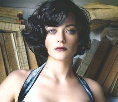 Marion Cotillard-short hair temptation