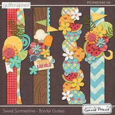 Sweet Summertime - Border Clusters