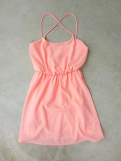 Summer+Grove+Dress+in+Apricot+[7144]+-+$36.00+:+Feminine,+Bohemian,+&+Vintage+Inspired+Clothing+at+Affordable+Prices,+deloom