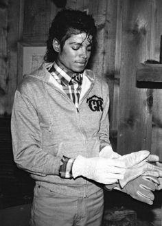 Rare photo of MJ