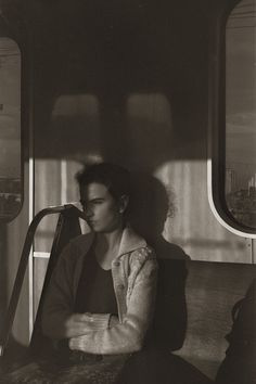 Boris Savelev, Metro Girl, Moscow, 1985