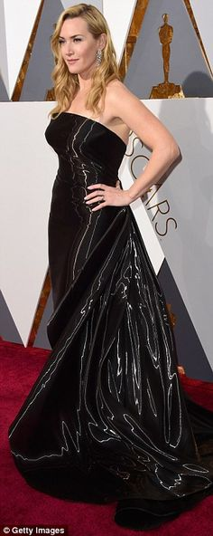 Kate Winslet in Ralph Lauren at the Oscars 2016