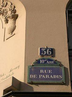La rue de Paradis (Paris 10ème)