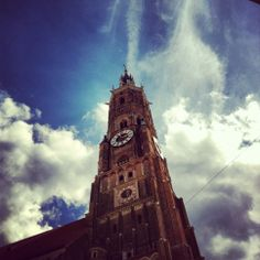 Landshut - church tower (f*cking huge)
