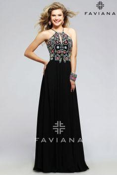 S7720 Black Bead Detailing Homecoming Dresses