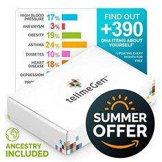 DNA Test Kit tellmeGen - 390 Reports - Health Predisposition - Ethnicity (Ancestry DNA Composition) - Genetic Carrier Status - Personal and Wellness Traits That Make You Unique * See this great product. (This is an affiliate link) Paternity Test Kit, Dna Facts, Personal Wellness, Ancestry Dna, Training Plan, Gain Muscle, Health And Wellbeing, Collage Sheet, Health And Wellness
