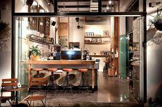 Über Cafe by DEHAB AT WORK, Tel Aviv   Israel cafe