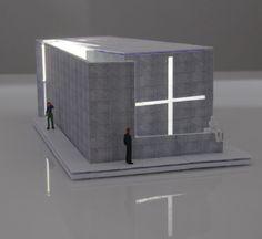 tadao ando church of light Church Architecture, Architecture Graphics, Concept Architecture, Amazing Architecture, Interior Architecture, Tadao Ando, Portfolio Design Layouts, Layout Design, Church Of Light