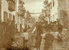 Inícios do século XX, Angra do Heroísmo, Ilha Terceira   Sábado do Bodo do Espírito Santo.