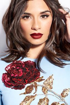 Diane Guerrero in Dolce&Gabbana Fall Winter 2015-2016, The Improper Bostonian USA September 2015