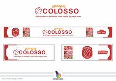 Projeto Placa Comercial impressão Digital (Açougue Colosso)