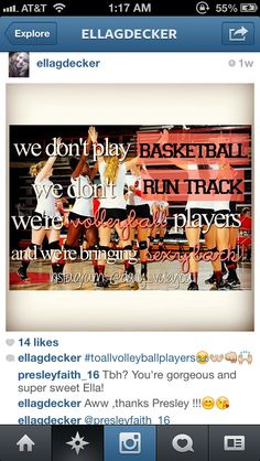 ^_^// that awkward moment when you play both volleyball and basketball...