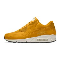 Nike Air Max 90 Premium iD Shoe. Nike.com ($170) ❤ liked on Polyvore featuring shoes, nike shoes, nike footwear and nike