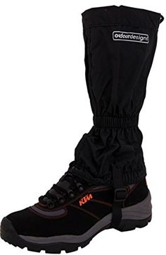 Outdoor Designs Tundra Gaiters Black/Large * Want additional info? Click on the image.