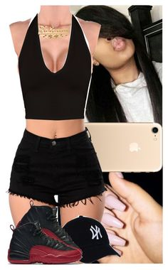 A fashion look from September 2017 by msixo featuring Zales and NIKE Swag Outfits For Girls, Cute Swag Outfits, Teenager Outfits, Dope Outfits, Classy Outfits, Pretty Outfits, Fashion Outfits, Matching Outfits Best Friend, Baddie Outfits Casual