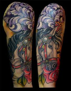Christophe Bonardi-a carnival horse would make a great tattoo