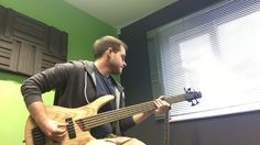 Recording a few YouTube videos with the lovely SR605 by Ibanez
