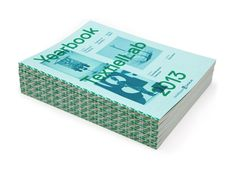 TextielLab Yearbook designed by Raw Color.