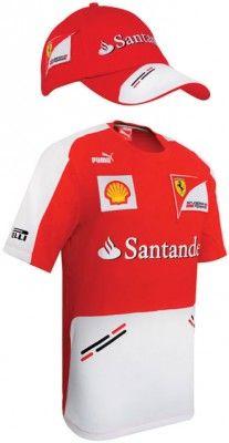 fee1b5e5 Official Ferrari Puma Merchandise for the 2013 Formula 1 season. This  fantastic Ferrari Puma Team