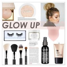 """Highlight"" by rheeee ❤ liked on Polyvore featuring beauty, Charlotte Russe, Sigma, Stila, Huda Beauty and Herbivore"