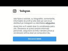 In acest tutorial veți vedea cum se pot descarca pozele si filmarile personale de pe Instagram - Cum poți sa-ți descarci pozele și filmările de pe Instagram #Instagram #videotutorial